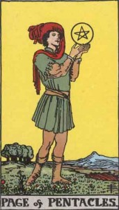 Page-of-Pentacles
