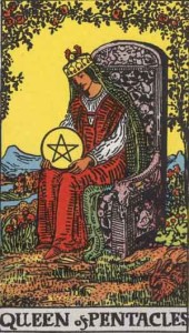 Queen-of-Pentacles