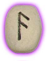 Runes Stones - Ansuz