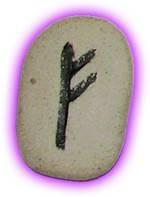 Runes Stones - Fehu