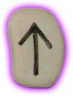 Runes Stones - Teiwaz