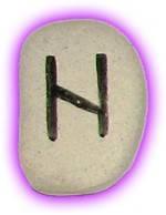 Runes Stones - Hagalaz