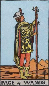 Page-of-Wands