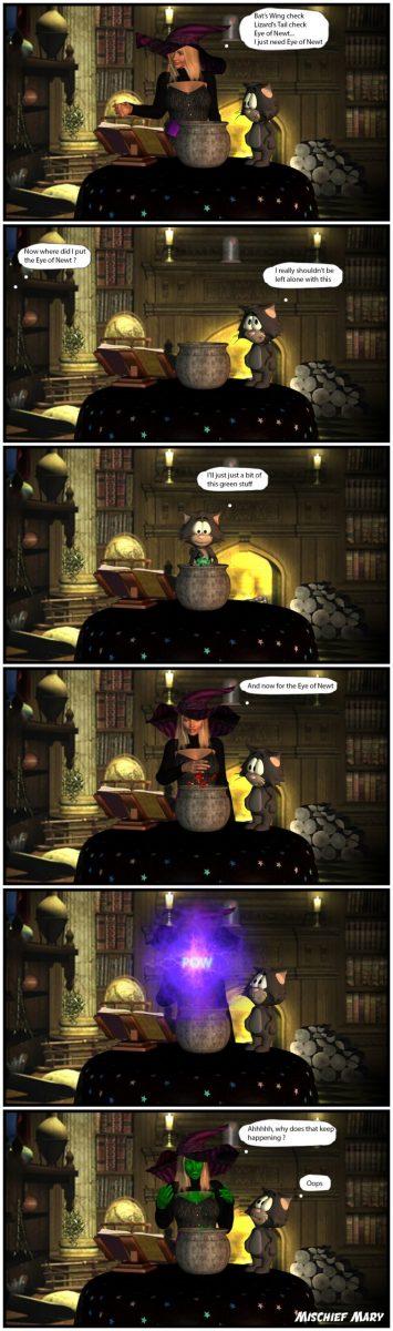 Mischief Mary Comic 01