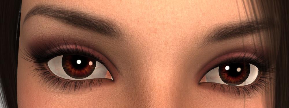 Eye Colours and Magic